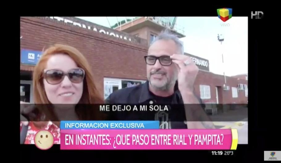 Cruce en San Juan: ¿Qué le dijo Pampita a Jorge Rial?
