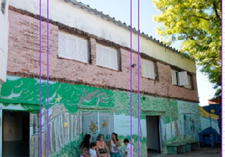 La escuela San Lorenzo sueña con dar clases en mejores condiciones