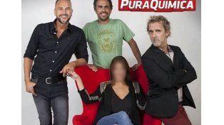 Maju Lozano anunció su incorporación al programa con una foto con sus compañeros.