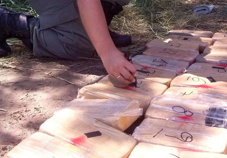 Gendarmería incautó en Tucumán más de 60 kilos de cocaína