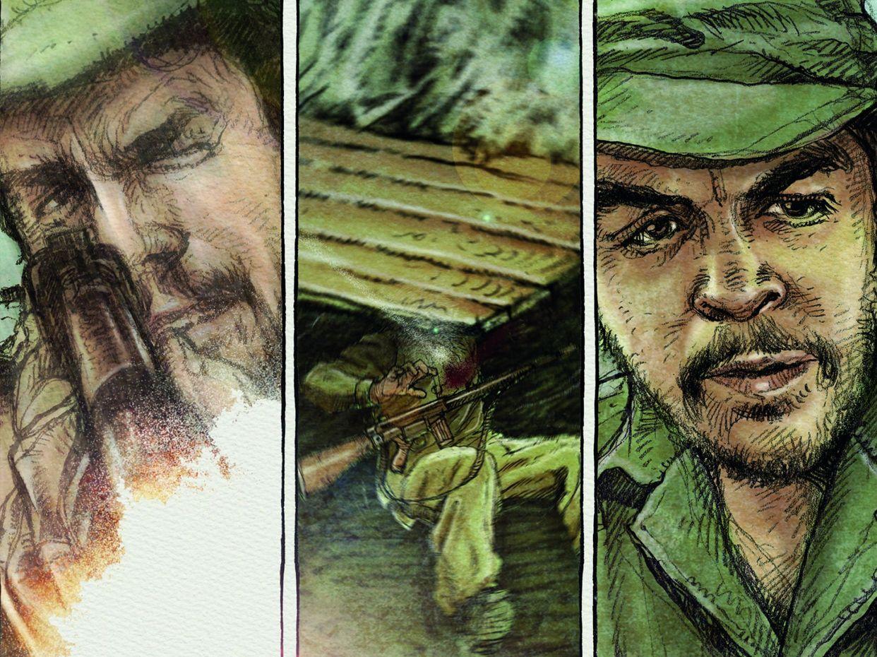La historia y viajes del Che Guevara serán retratados en una trilogía de comics