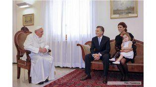 El papa Francisco le anticipó a Macri que vendrá cuanto antes a visitar la Argentina