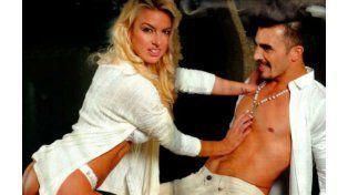 Ailén Bechara y Fernando Bertona en los tiempos en que todo era amor.