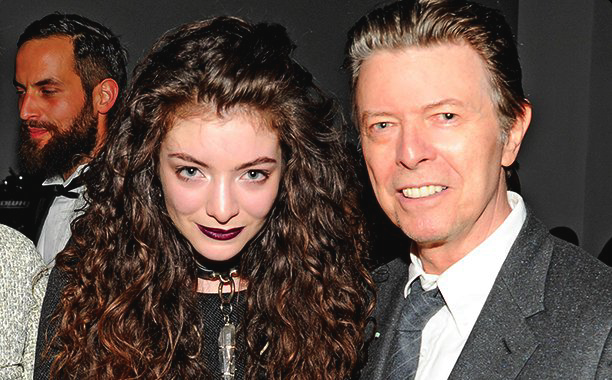 Lorde y su tributo a David Bowie