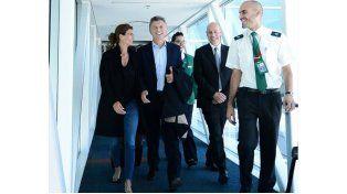 Macri arribó al aeropuerto de Fiumicino alrededor de las 6.30 de la mañana en un vuelo de la aerolínea Alitalia.