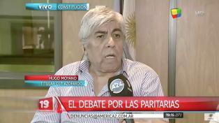Hugo Moyano anticipó que las paritarias van a superar el 32%