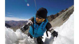 Un hombre sin manos ni pies logró la proeza extrema de hacer cumbre en el Aconcagua