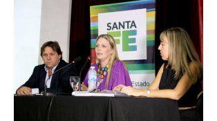 El acto de relanzamiento del programa se llevó a cabo hoy en la sede del Banco Municipal de Rosario.