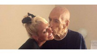 Victoria Xipolitakis visitó a los abuelos de un geriátrico