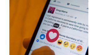 Facebook lanza otras reacciones al lado del exitoso botón me gusta