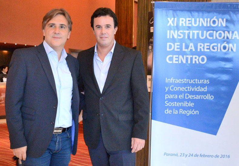 Martínez Kerz se reunió con el vicegobernador de Córdoba Martín Llaryora
