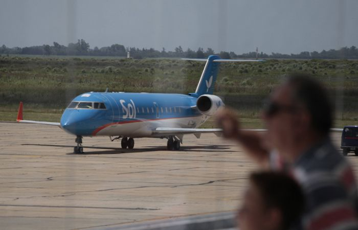 El aeropuerto demanda a la empresa aerocomercial Sol.