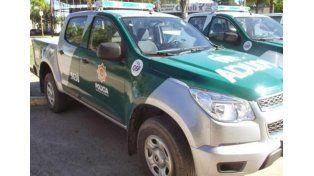 Personal de la guardia rural Los Pumas pudo dar con el agresor y evadido.