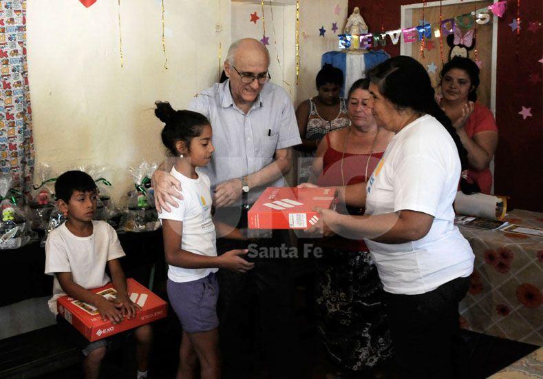 Apuesta. Este año el objetivo del Movimiento es reunir unas 940 mochilas llenas. / Diario UNO: Juan Manuel Baialardo
