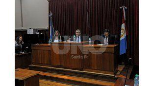 Con fecha. El próximo 29 de febrero el tribunal evaluará si condena al imputado Raúl Sandoval. UNO de Santa Fe/Manuel Testi