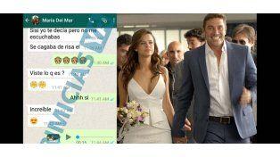 La conversación de Whatsapp que releva que la esposa de Matías Alé le fue infiel