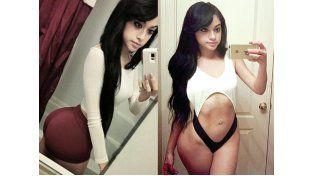 Sus imágenes en Instagram se tornaron virales en las redes sociales.