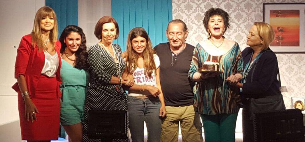 Zulma Faiad cumplió años arriba del escenario y lo festejó con el público