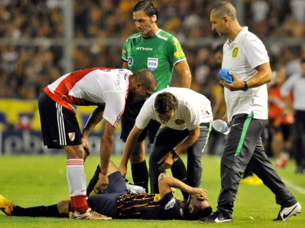 Central pierde a José Luis Fernández al menos tres semanas, por la lesión que sufrió ante River
