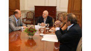 Lifschitz y los senadores nacionales por Santa Fe avanzaron en una agenda de temas prioritarios