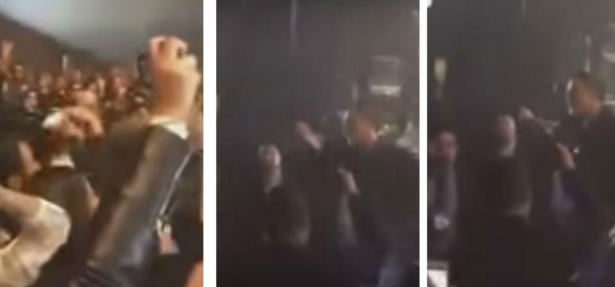 Alejandro Sanz paró un show para defender a una mujer maltratada
