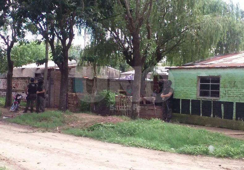 Uno de los operativos realizados en Esperanza.