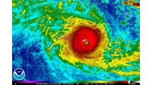 Las islas Fiyi, golpeadas por el peor ciclón jamás registrado