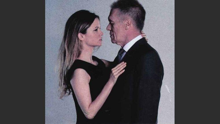 La sensual producción de fotos de la novia de Miguel Ángel Solá