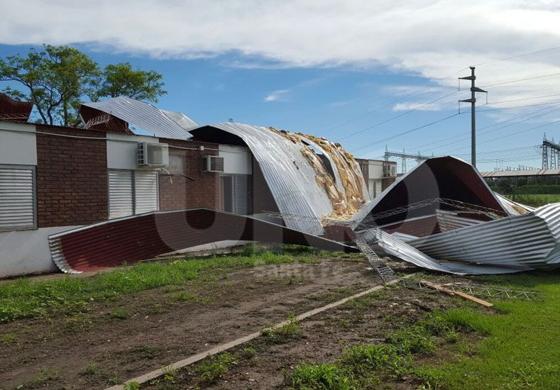 Destrozos en Casasol