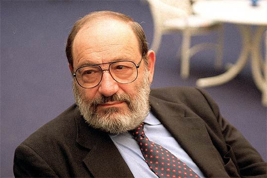 Murió el escritor Umberto Eco