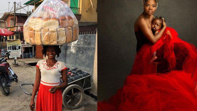 Vendía pan y se convirtió en una exitosa modelo