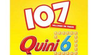 Este domingo el Quini 6 sortea $107 millones