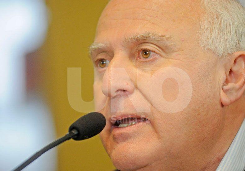 Lifschitz: Mi solidaridad con los vecinos afectados