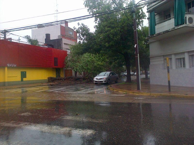 La zona de Suipacha y Saavedra./ gentileza Mariano.