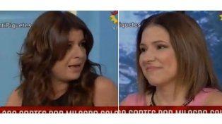 El gesto de Fernanda Iglesias que hizo sacar de quicio a su compañera Andrea Taboada