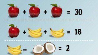 Un acertijo matemático que los niños resuelven fácilmente hace furor en Facebook.