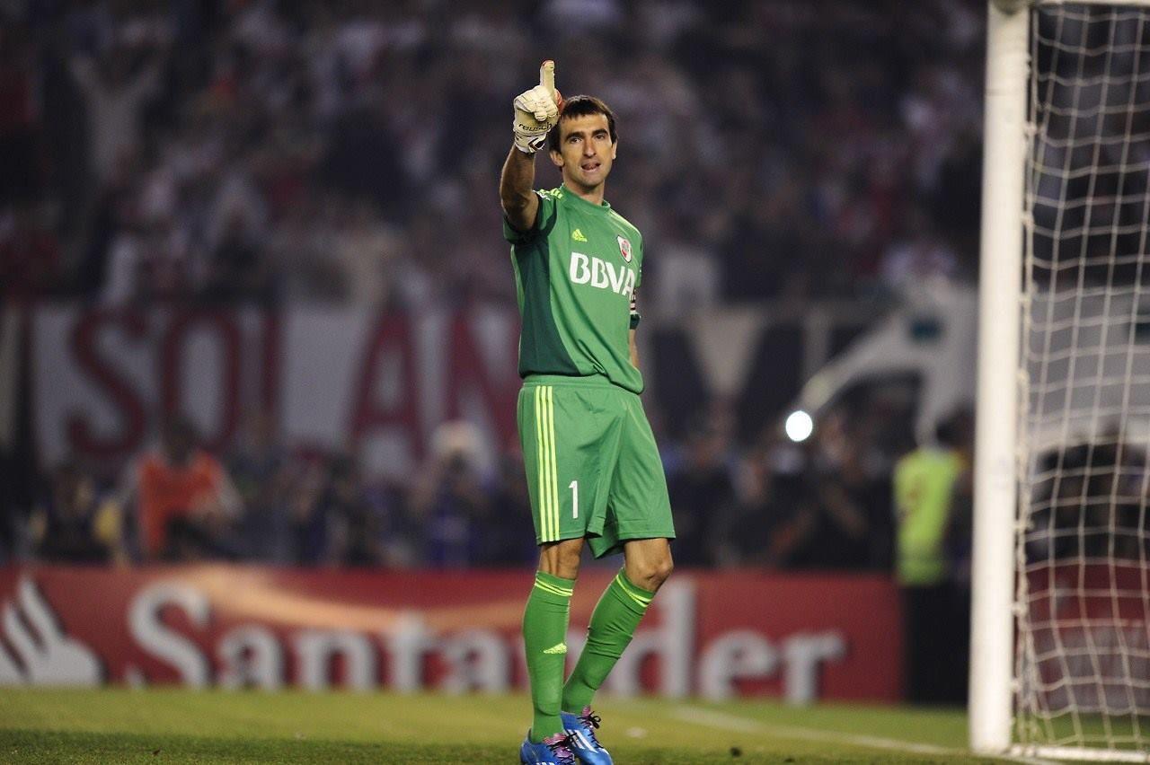 River. Marcelo Barovero es el uno.