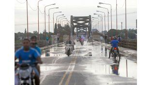 Intensa. Así fue la lluvia en la ciudad. A la mañana cayeron 96 mm.UNO de Santa Fe/Manuel Testi
