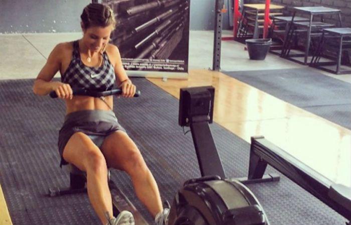 La modelo e instructora rosarina es una motivación extra para empezar a entrenar.