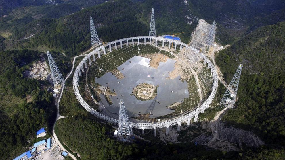 El mayor radiotelescopio del mundo