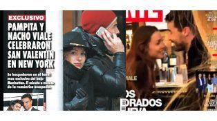 Las fotos que confirman el romance entre Pampita y Nacho Viale