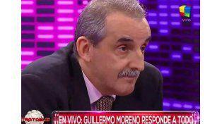 El show de Guillermo Moreno en Intratables y una confesión: Dejamos muchos pobres