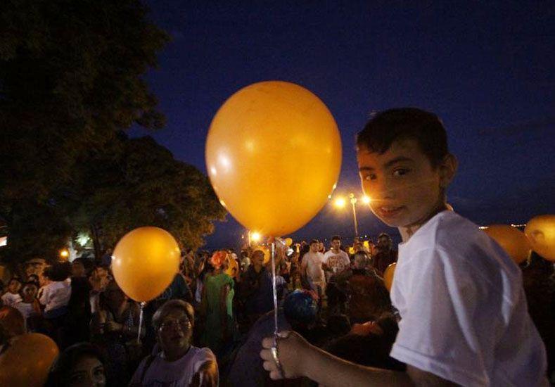 La Ciudad conmemoró el Día Internacional de lucha contra el Cáncer Infantil