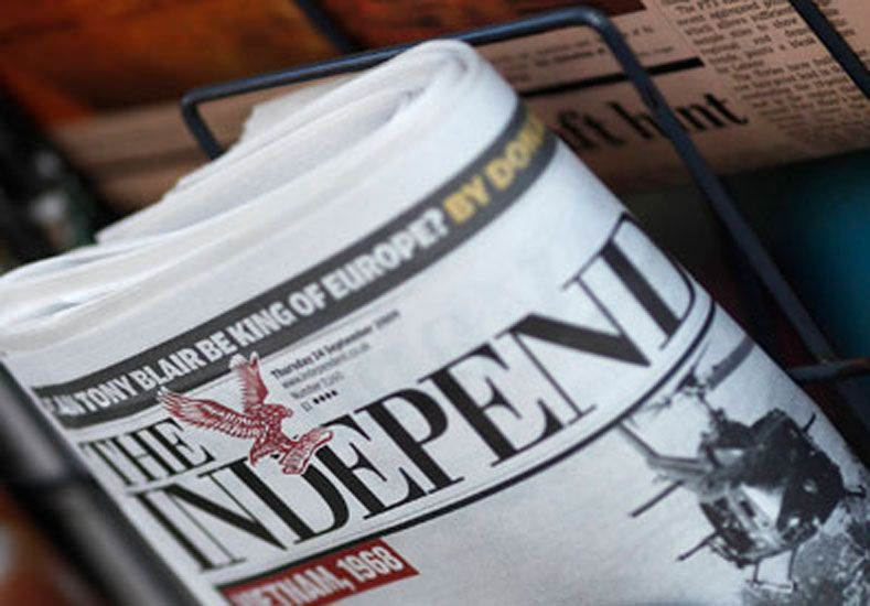 El diario The Independent dejará de imprimirse en papel