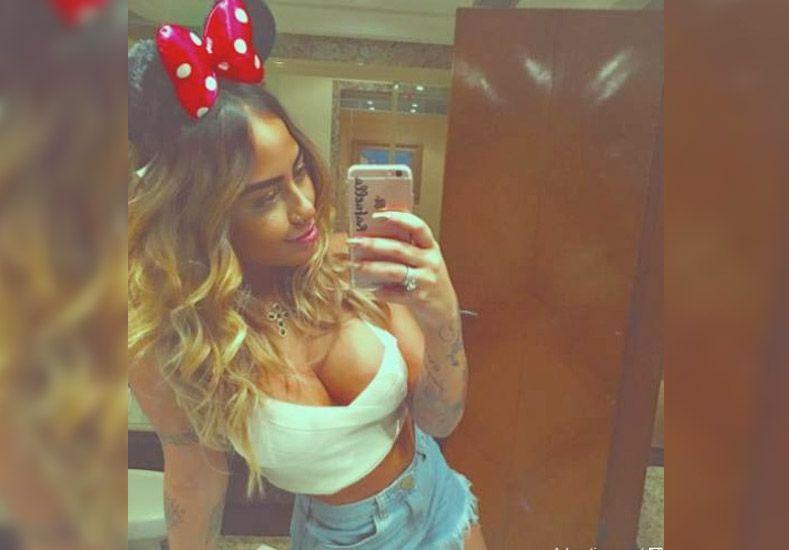 El tremendo escote de la hermana de Neymar hizo estallar las redes