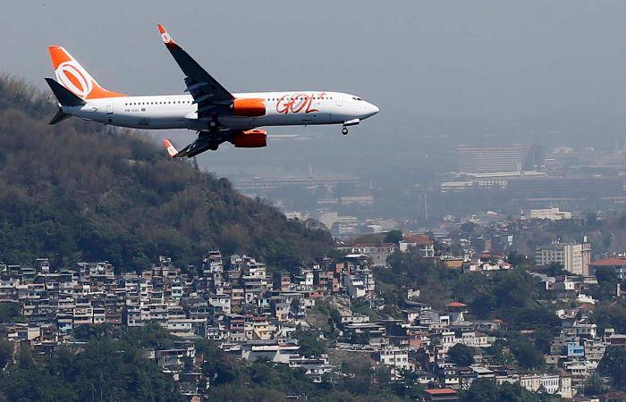 Gol indicó que los 145 pasajeros con destino a São Paulo fueron evacuados a salvo y asignados en otros vuelos. (foto archivo)