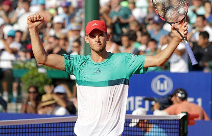 El austríaco ya había dado la sorpresa del certamen al derrotar en semifinales a Nadal.