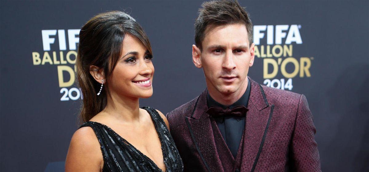 La foto más hot de San Valentín la protagonizaron Messi y su esposa, Antonella Roccuzzo