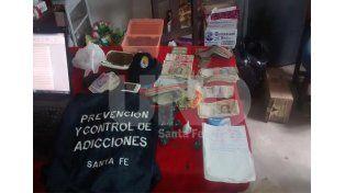 Tostado: secuestraron drogas y aprehendieron a cinco vendedores barriales de estupefacientes