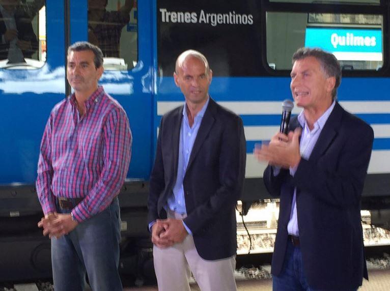 Randazzo expresó sus diferencias con el actual gobierno y expresó su preocupación por el aumento de tarifas.